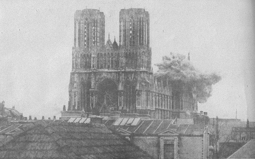 De vensters van de Notre Dame