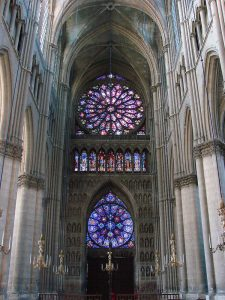 Kathedraal Reims glas in lood